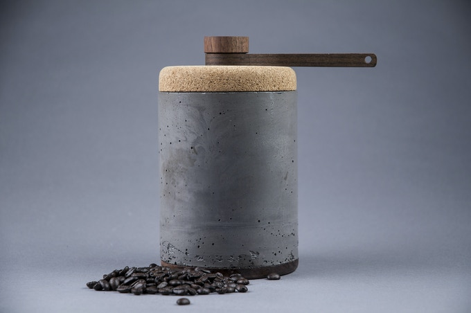 Charcoal Grey Beton Vessel