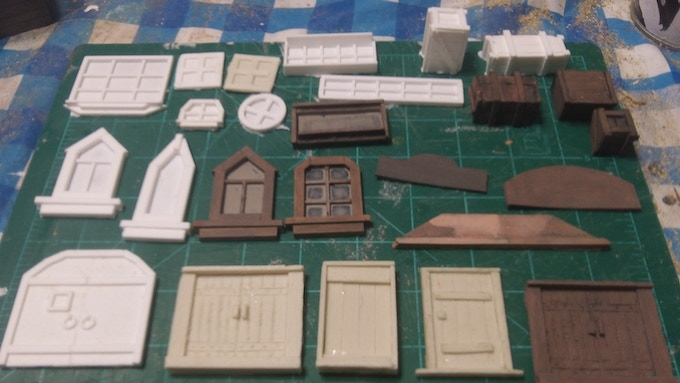 Example so Doors and windows etc, for the buildings!