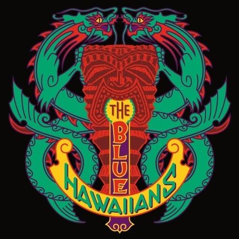 Blue Hawaiians Tiki Art by Michael Doret