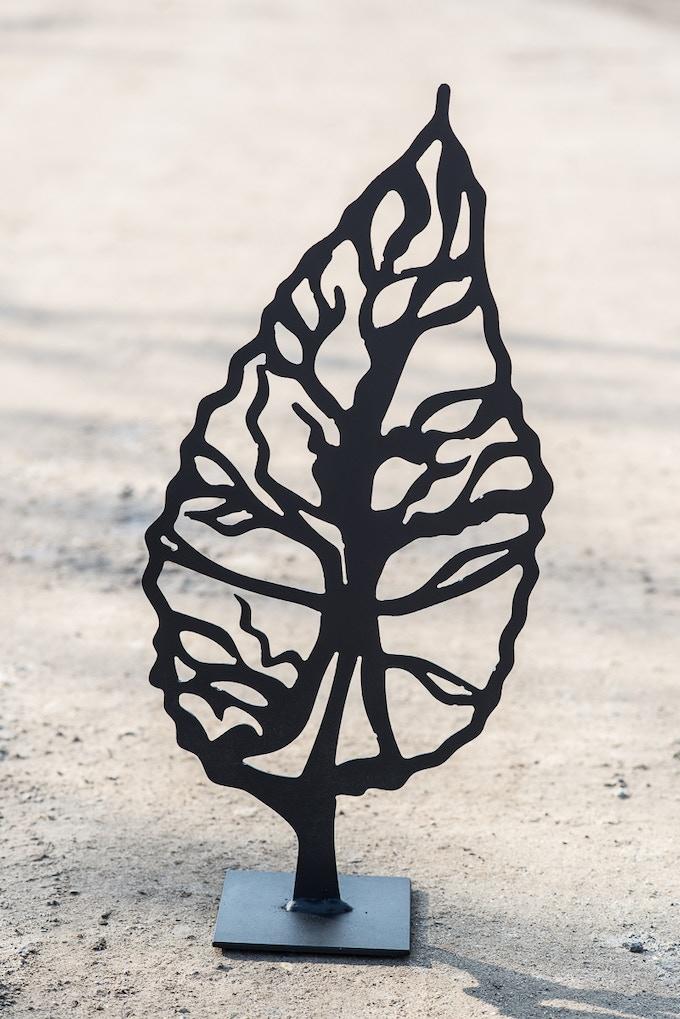 $75 - Leaf Sculpture