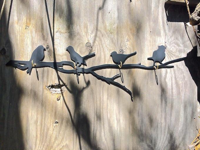 $125 - Bird and Branch Hook Rack