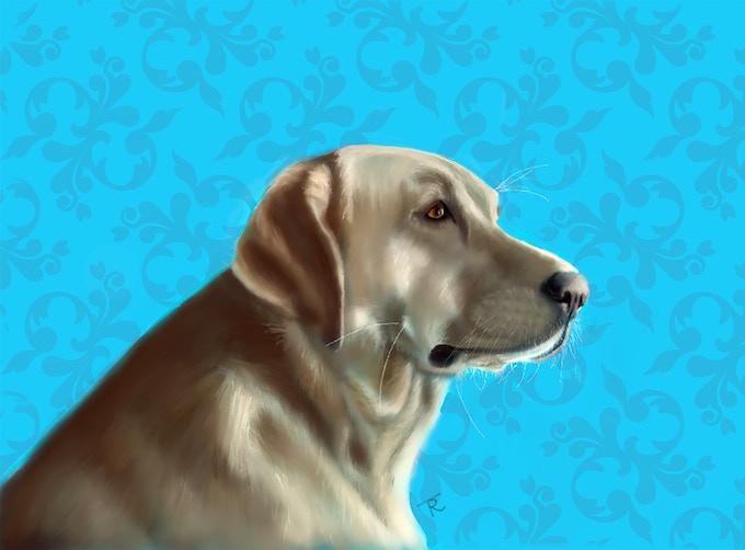 Detailed Digital Portrait
