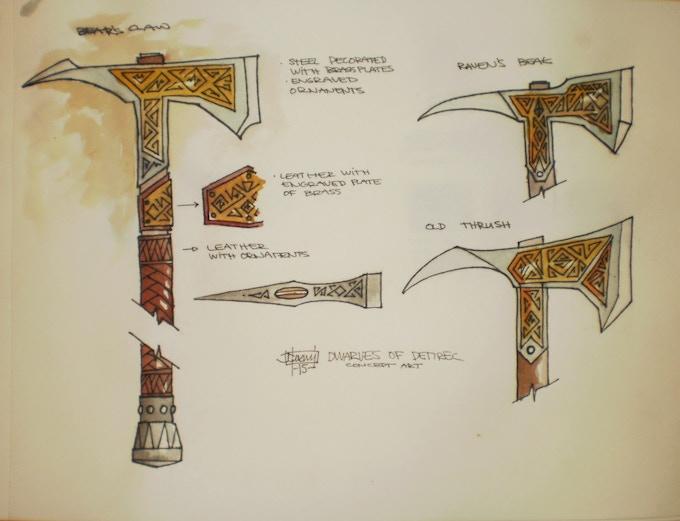 Brenn's Bear Claw Pickaxe