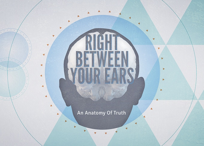Right Between Your Ears title card