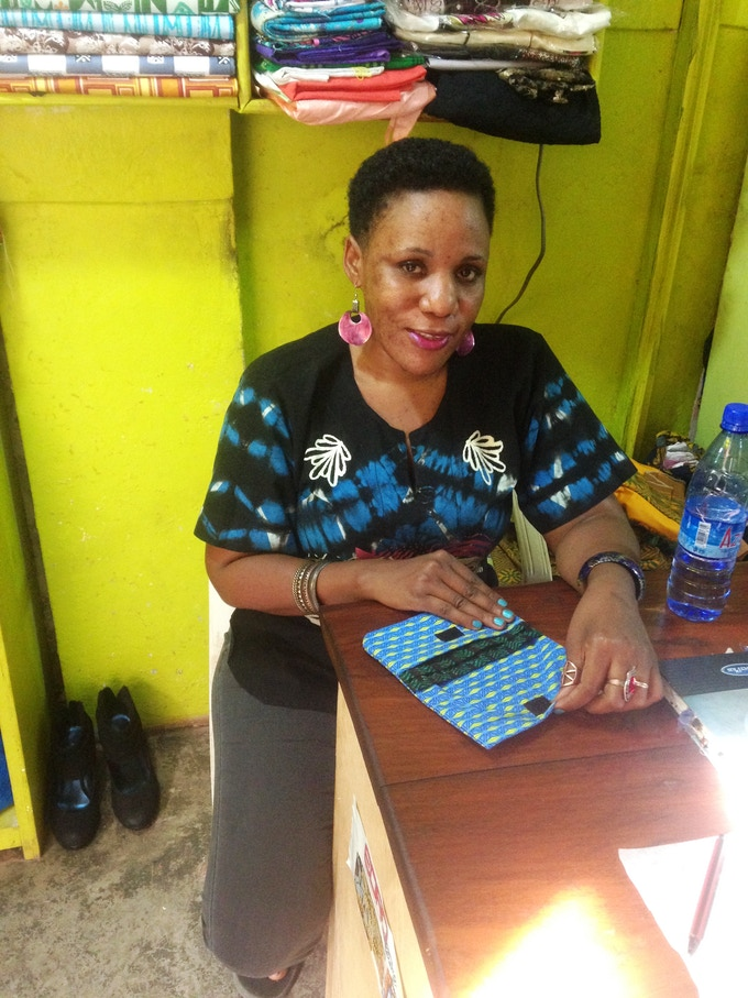 Rose, one of our tailors