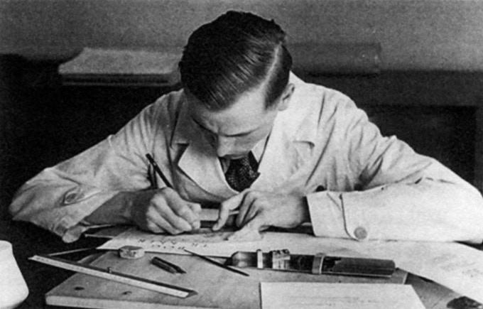 Hermann Zapf, c. 1938