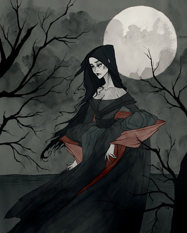 An Annabel Lee commission by Abigail.