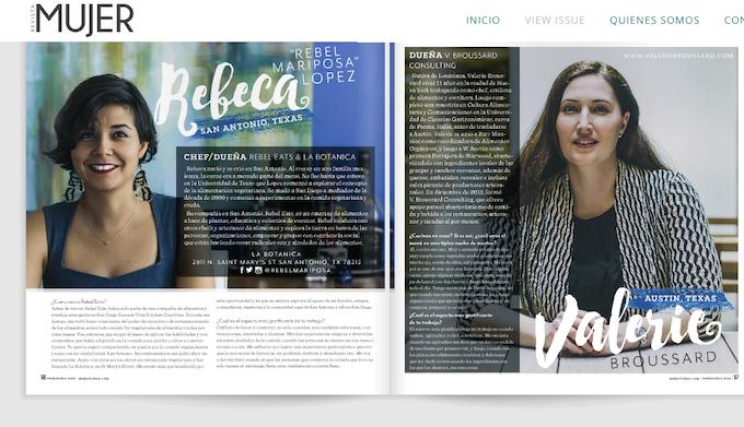 Mujer Magazine Spring 2015