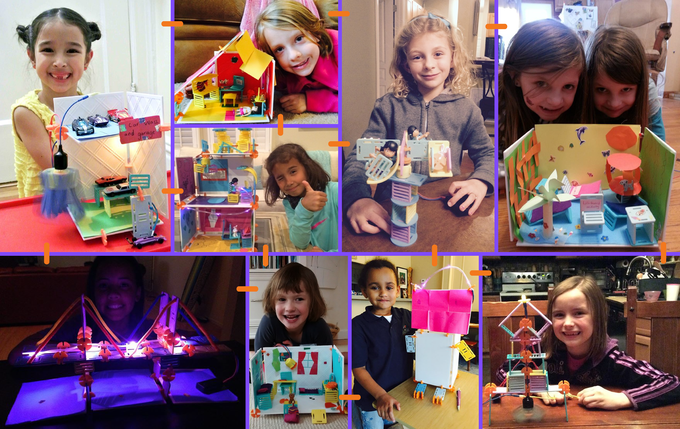 Unleash their creativity! Roominators make anything they can imagine!