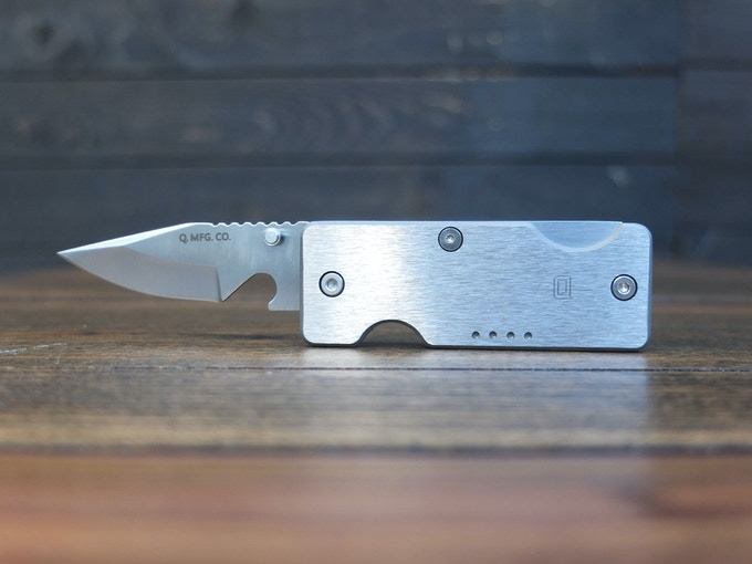 EDC pocket knife key holder Titanium