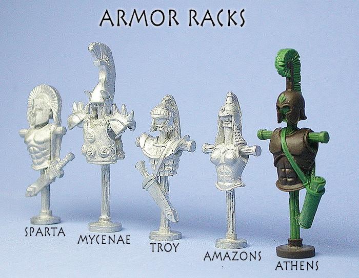 Armor Racks