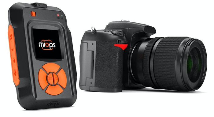 MIOPS Smart, smartphone controllable camera trigger for high speed photography!