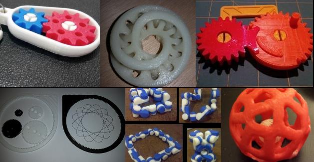 3D printed rewards