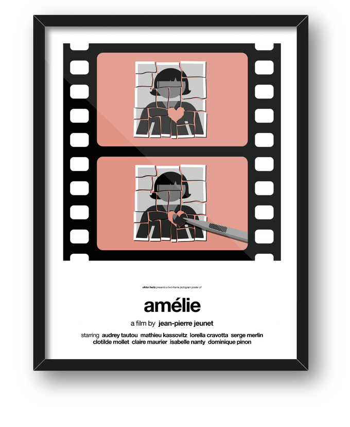 Amélie: first additional poster to be printed if 1st stretch goal is reached.