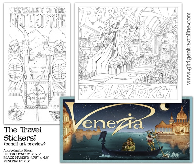 "We got the color art for ""Venezia!"" Hooray! Thanks, Cheyenne!"