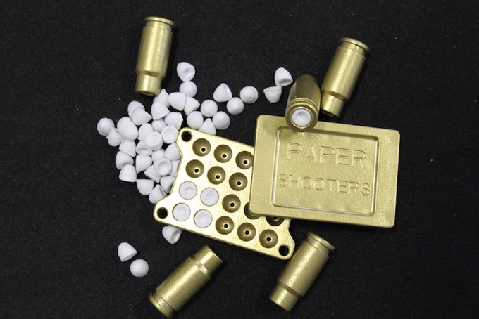 Make your own ammo with the mold included with every kit!