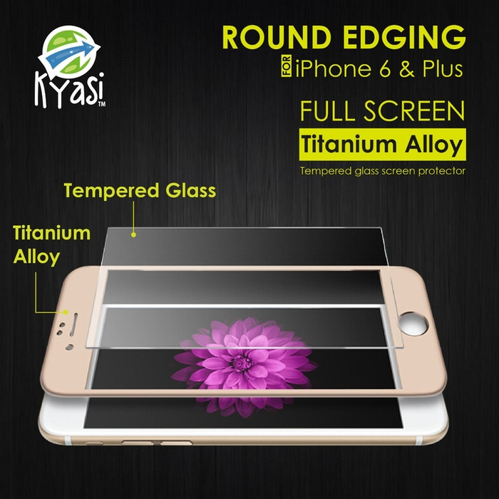 Tempered Glass Overlay on Screen