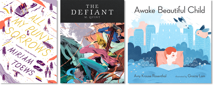 A handful of the new books we'll be putting out in 2015.