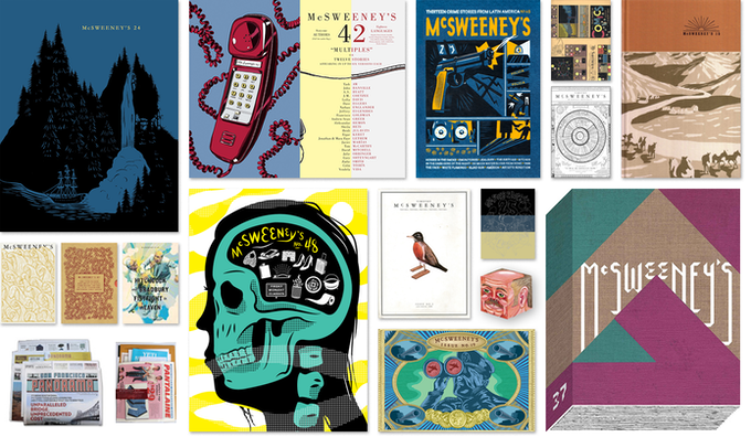 Shown above: approximately 35.4 percent of the McSweeney's issues currently known to exist in the world.