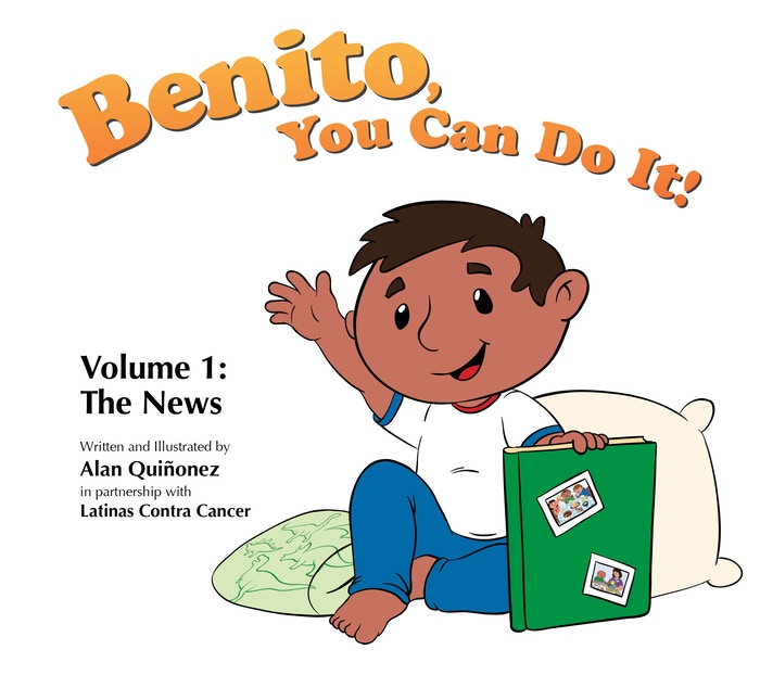 English/Spanish picture book for children and families affected by cancer.