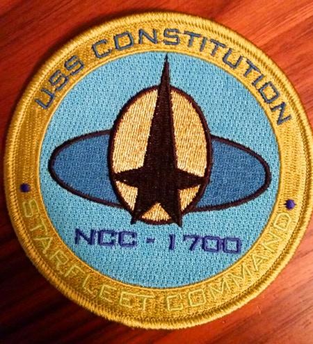USS Constitution Perk patch