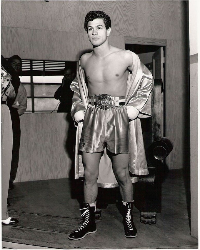 Art Aragon was a local boxing legend and tabloid star of the 1950s.