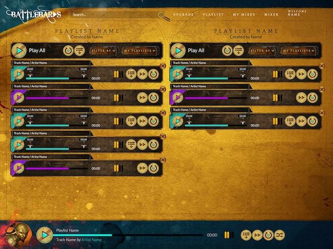 BattleBards - Epic Fantasy Audio & Tools For Tabletop RPGs