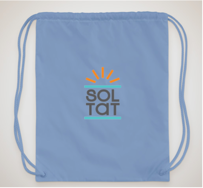 Receive a SolTat Edition Drawstring Bag!