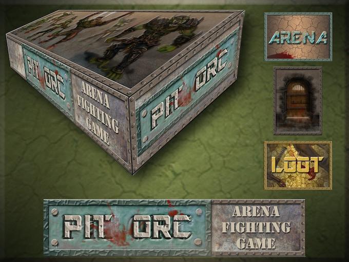 Pit Orc Box Design (digital prototype)