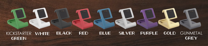 TimeDock, now in 9 Unlocked Colors! Thank You!