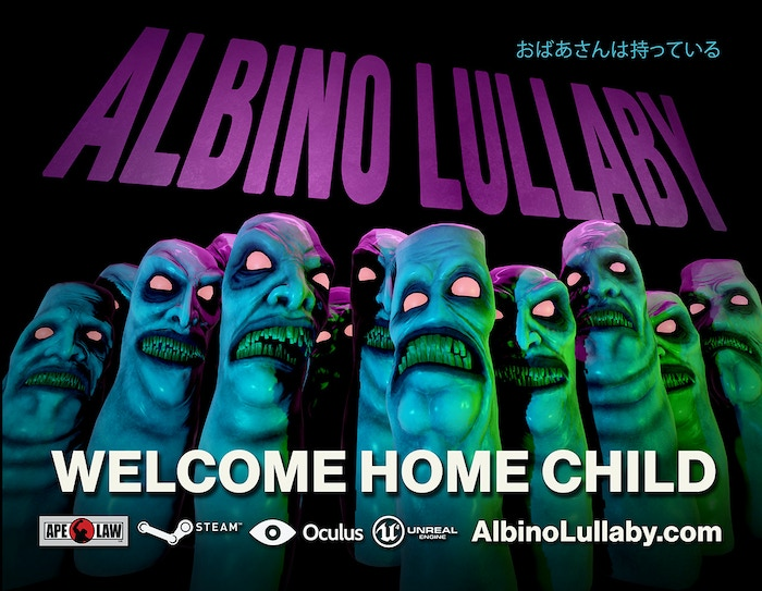 Albino Lullaby is a first-person horror adventure game set in a dark and fun subterranean world waiting to be explored. VR Compatible!