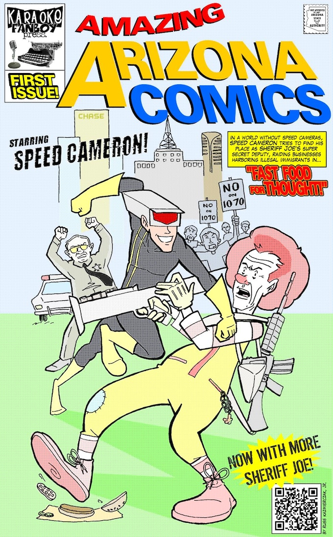Amazing Arizona Comics #1, March 2010.
