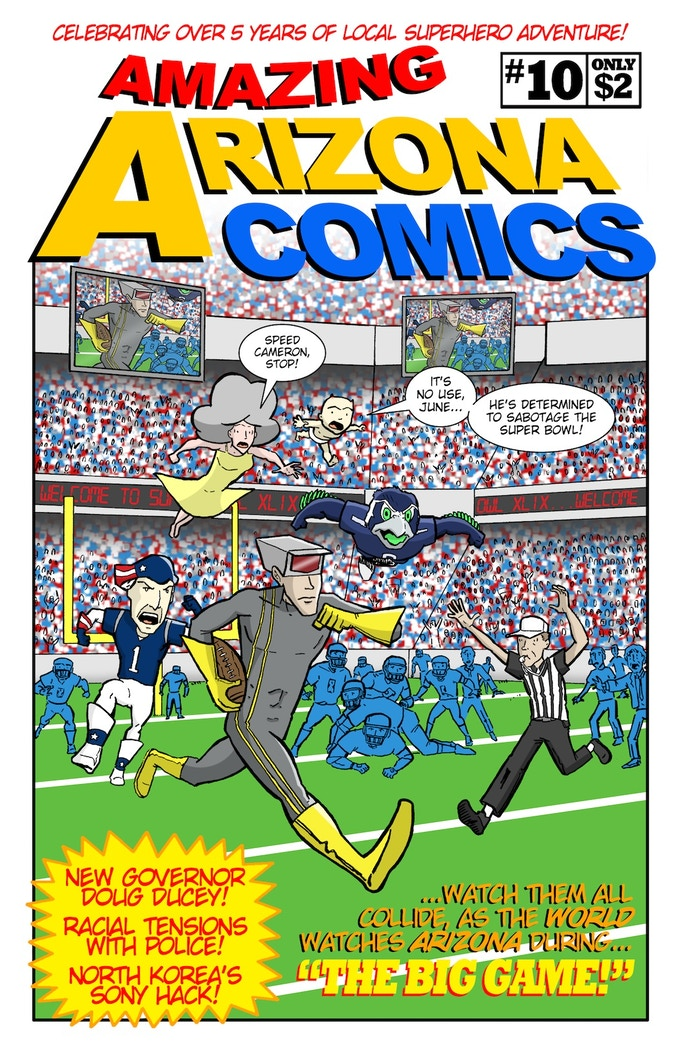 Amazing Arizona Comics #10, February 2015.