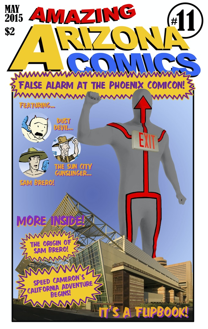 Amazing Arizona Comics #11, May 2015.