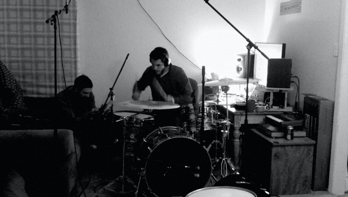 """Tracking drums for """"Circa"""""""