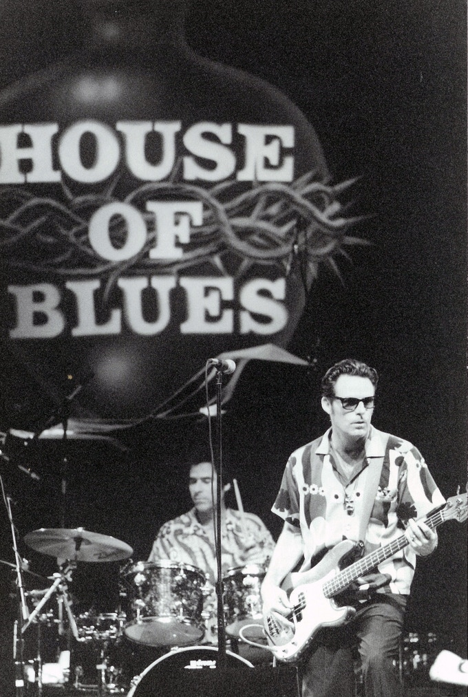 One of many nights at The House Of Blues in Los Angeles.
