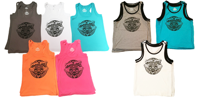 Male & Female Tanks In A Range Of Colors