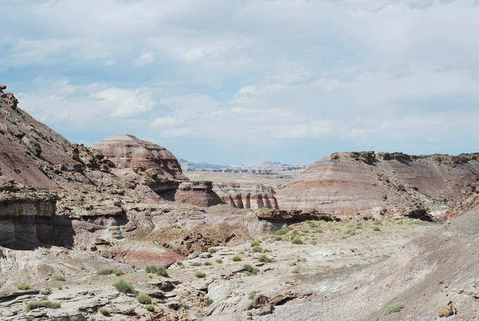 The view from the Hanksville-Burpee Quarry, Utah.