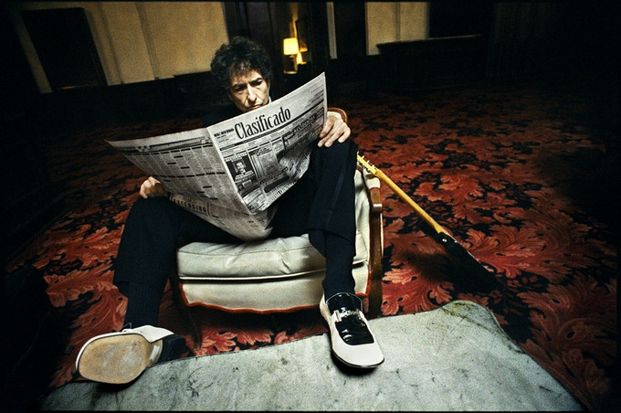 Bob Dylan. Copyright Danny Clinch.