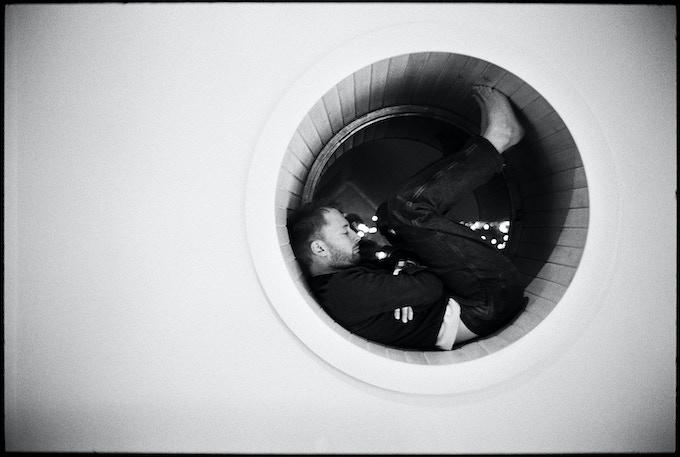Thom Yorke of Radiohead. Copyright Danny Clinch.