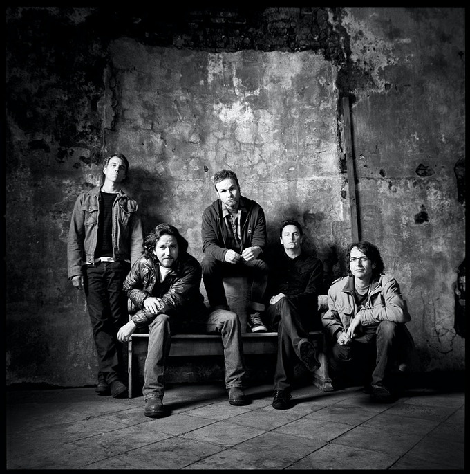 Pearl Jam. Copyright Danny Clinch.