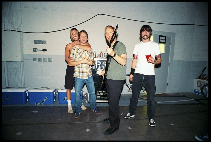 Foo Fighters. Copyright Danny Clinch.