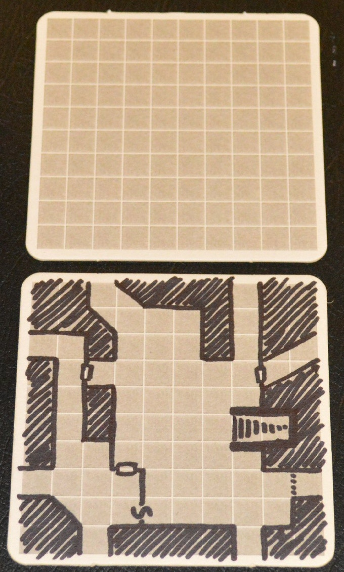10x10 Geomorph Grid