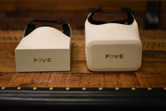 Early Prototypes of FOVE