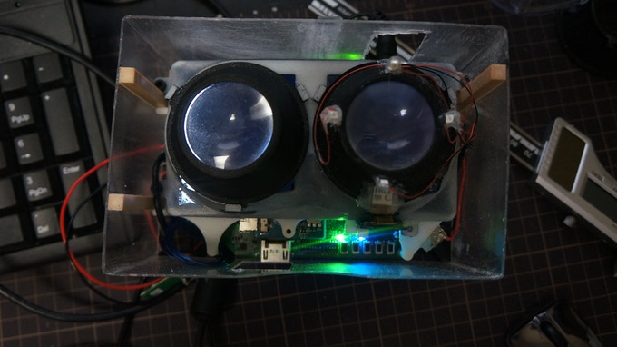 Early Eye Tracking Proof of Concept
