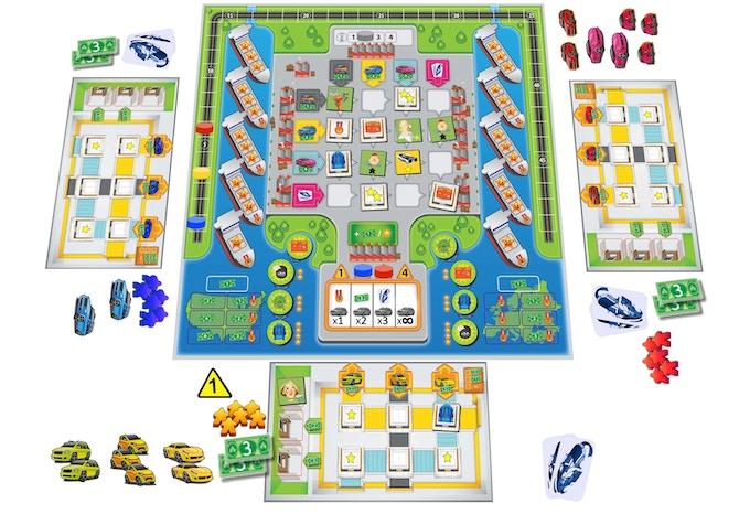 Game board (prototype graphics)