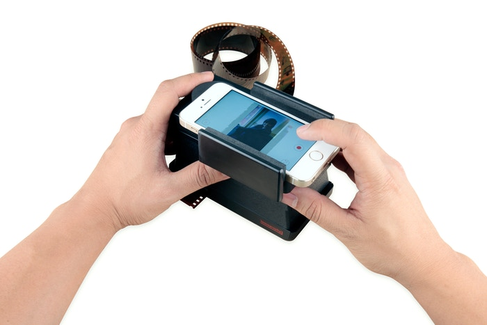 The Smartphone Film Scanner Offers You a New Way to Instantly Scan and Share 35mm Films Using Your Smartphone.