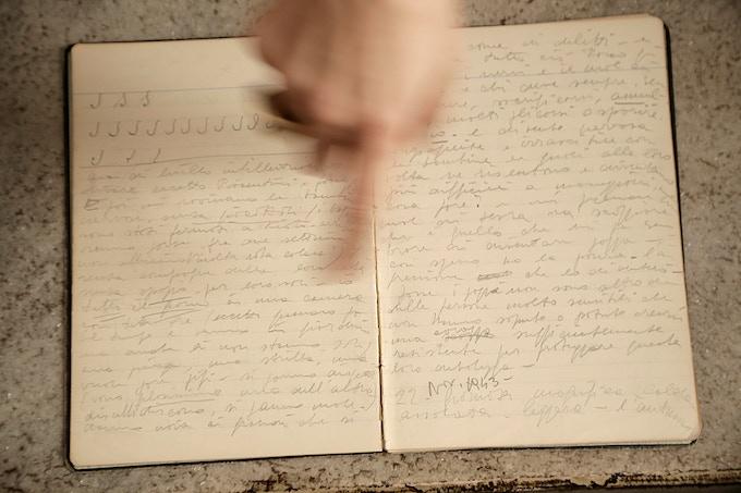 Toapzia's diary-- Il diario di Topazia.  Photo by Katrina Tan