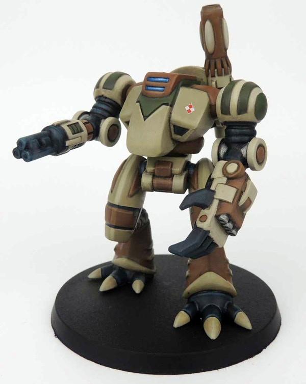 Ayame Mobile Mortar Assaultsuit