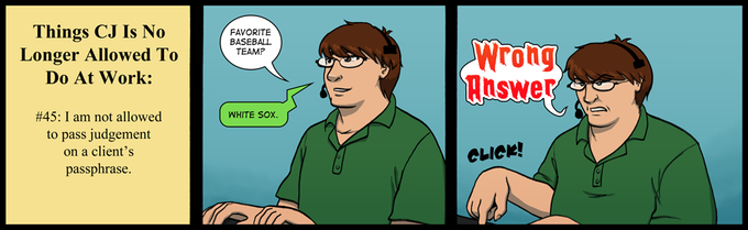Strip #82: Workers in Glass Cubicles